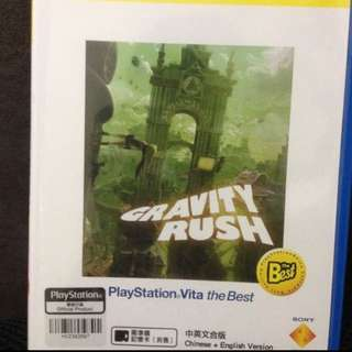 Ps Vita Gravity Rush Chinese English Subtitle Psvita