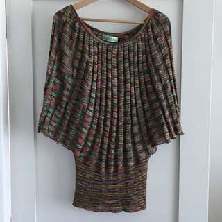 Knitted Stretchy Top Size 8