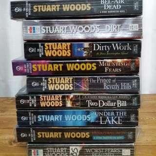 Assorted Stuart Woods Books