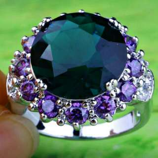 Crystal Costume Ring S7 With Vintage Appeal