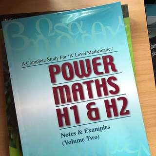 Power Maths H1 & H2 Volume 2