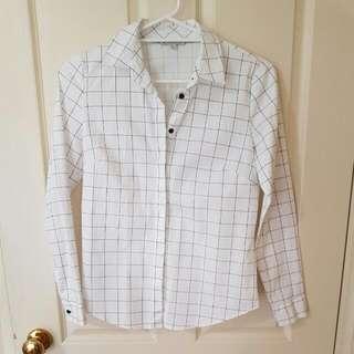 Black & White Blouse/shirt
