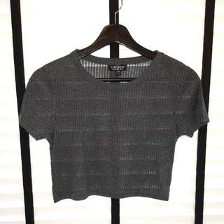 Cropped Top (Grey)