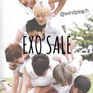 EXO SALE + CLEARANCE