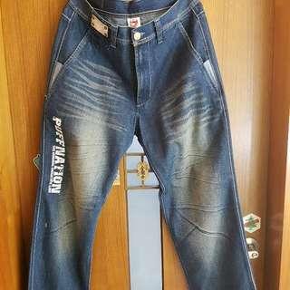 Puff Nation 牛仔褲 32腰