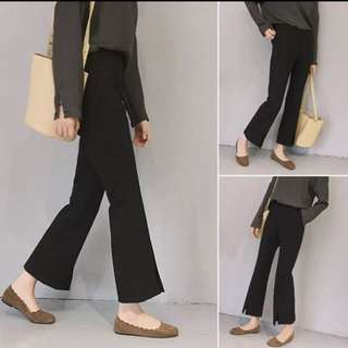 Culottes With bottom slits