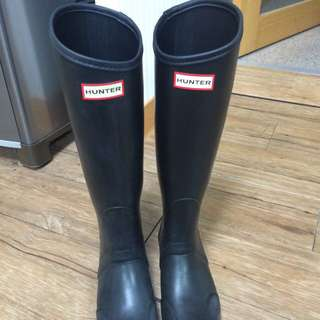 Hunter長版雨鞋