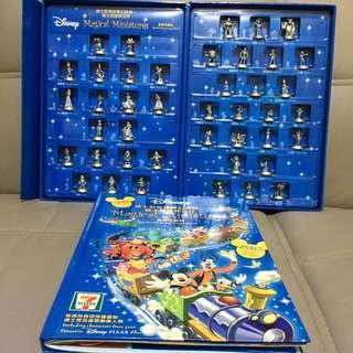 7-11 迪士尼迷你公仔 香港珍藏版 一套