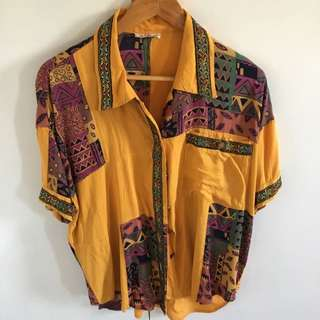 SOLD PENDING - Cool Vintage Festival Shirt S/M