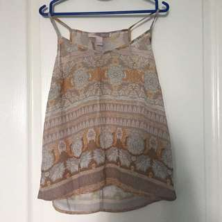 F21 Open Back Top