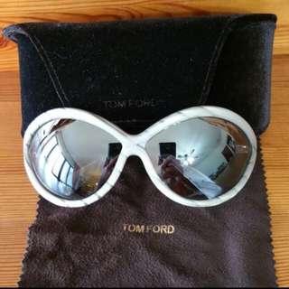 Auth BN Tom Ford - Sophia Marble Frame Sunglasses