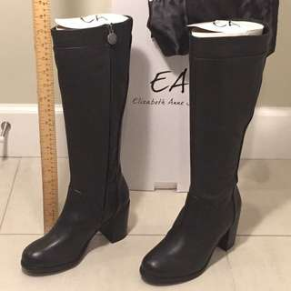 Elizabeth anne Shoes Leather Boots