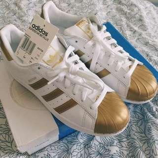 Adidas Superstar Metallic Pack - Gold