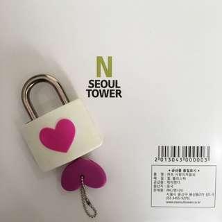 NSeoul Lock Of Love (purple)