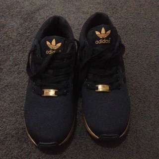 RARE Adidas ZX Flux - Rose gold / Black