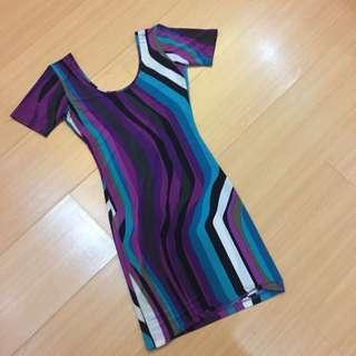 Lowback Kamiseta Fitted Dress