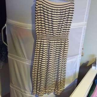 Strapless Summer Picnic dress