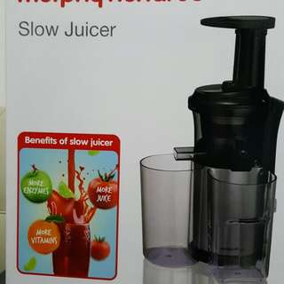 Slower Juicer