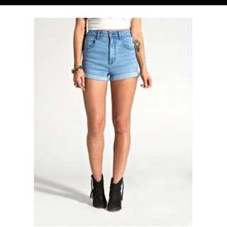 Wrangler hi pin shorts