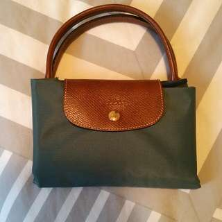 Long Champ Le Pliage Foldable Bag With Zip