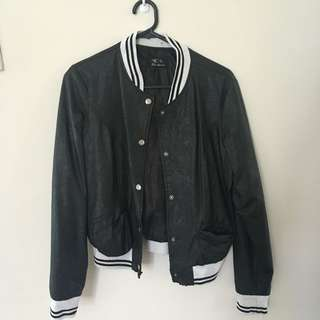 Leather Ice Jacket