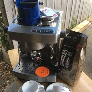 Sunbeam Cafe Series EM6910 Coffee Machine