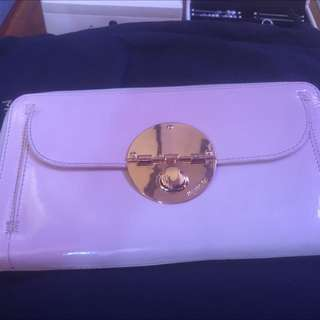 Mimco Pink And Rose Gold XL wallet