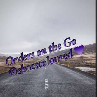 shoescoloured_Orders on the Go 👟👍🏻❤️