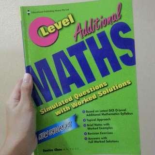 o level additional maths assessment book