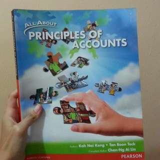 pearson all about princples of accounts textbook