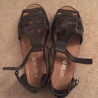 Rubi/ Cotton On Cutout Sandals