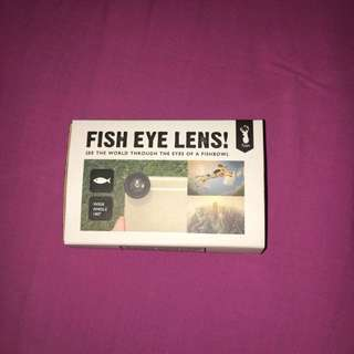 Magnetic Fish eye lense