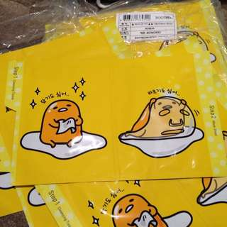 Gudetama Cleansing Tissue 9ml + All-in-one Mask Sheet 20ml