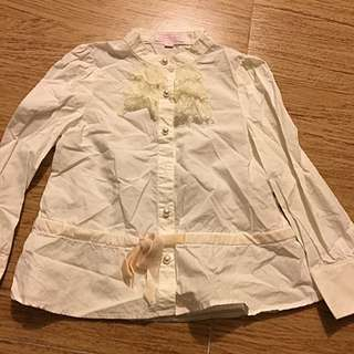 Nicolas & Bear Girl Shirt / Size 3 Years Old