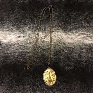 Eiffel Necklace