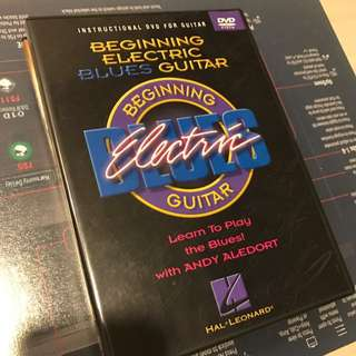 Beginner Blues Electric Guitar DVD