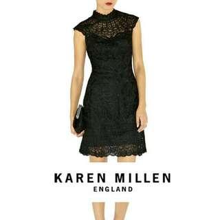 Karen Millen Little Black Lace Dress