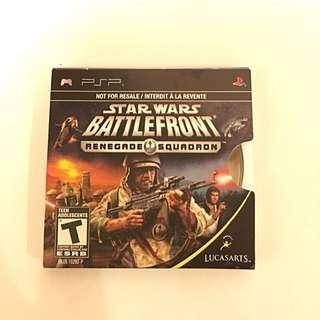 PSP Star Wars Battlefront- Renegade Squadron