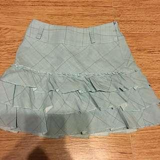 Nicolas &bears Checked Ruffle Skirt / Size: 2 Years Old