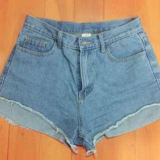 藍色 牛仔褲