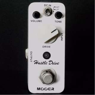 Mooer Hustle Drive(Pending for analogtone)