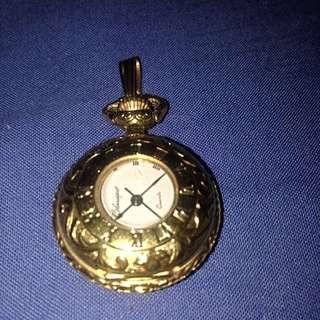 GOLDquartz-classique Pocket Watch