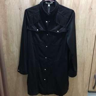 🚚 ✨全新✨ZARA TRF 波西米亞麂皮流蘇長版外套