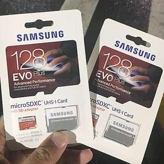 原價2600 SAMSUNG 128GB Evo Plus 記憶卡