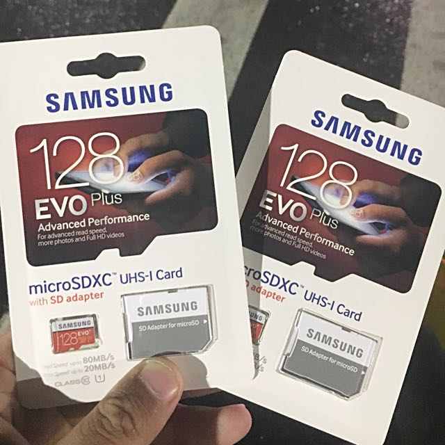 原價2600 SAMSUNG 128GB Evo Plus 記憶卡
