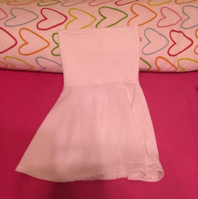 正韓 原價3280 平口白色洋裝 全新