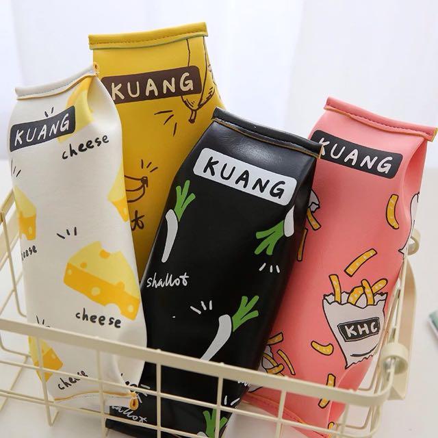 日韓人氣 零食包裝筆袋收納袋
