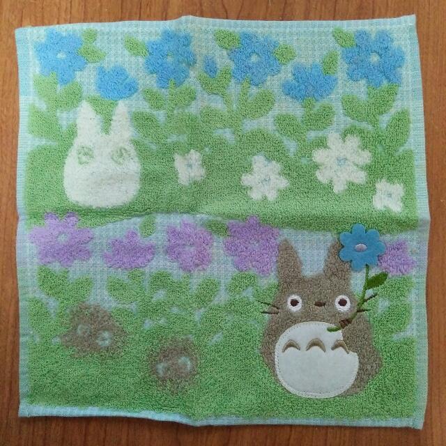 日本帶回 龍貓 手帕小方巾