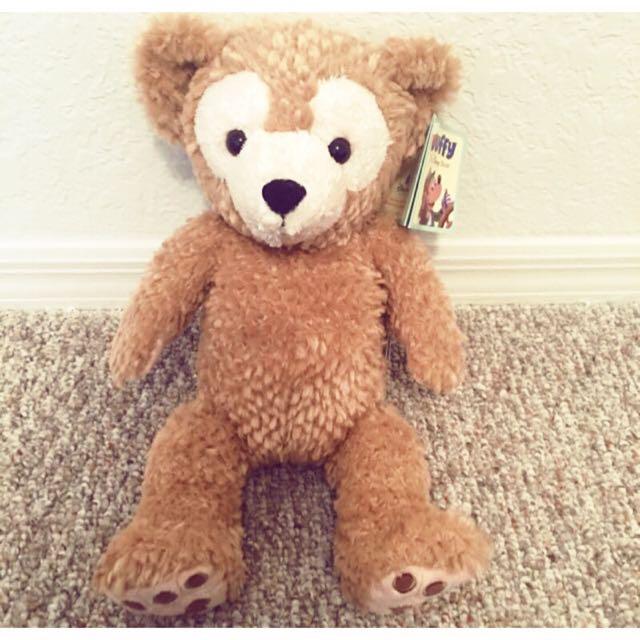 (購於美國迪士尼)達菲熊 Duffy 玩偶 S號