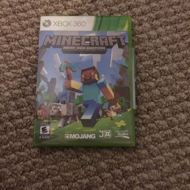 A Brand New Not Used Min craft For Xbox 360